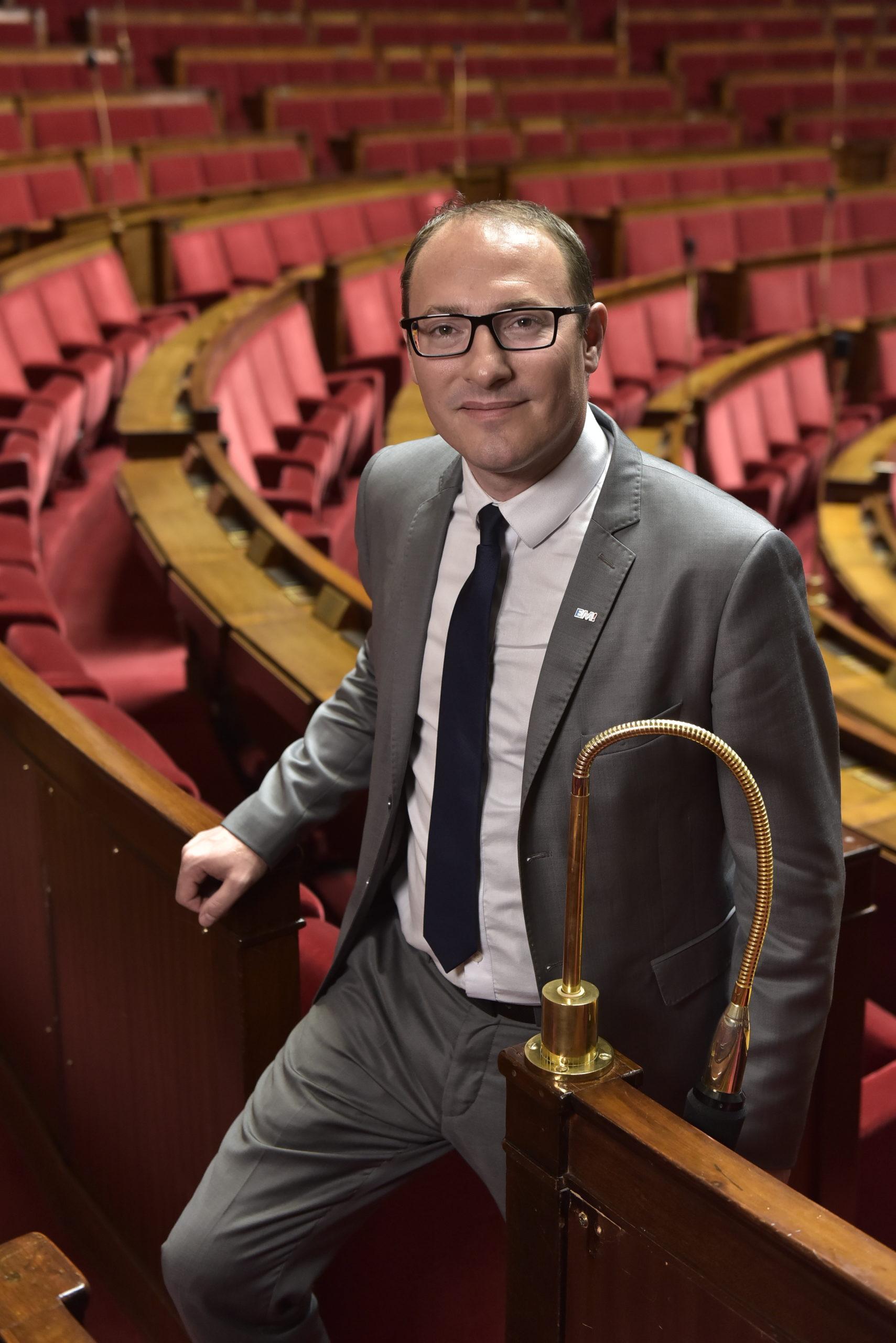 Denis Masséglia dans l'hémicycle