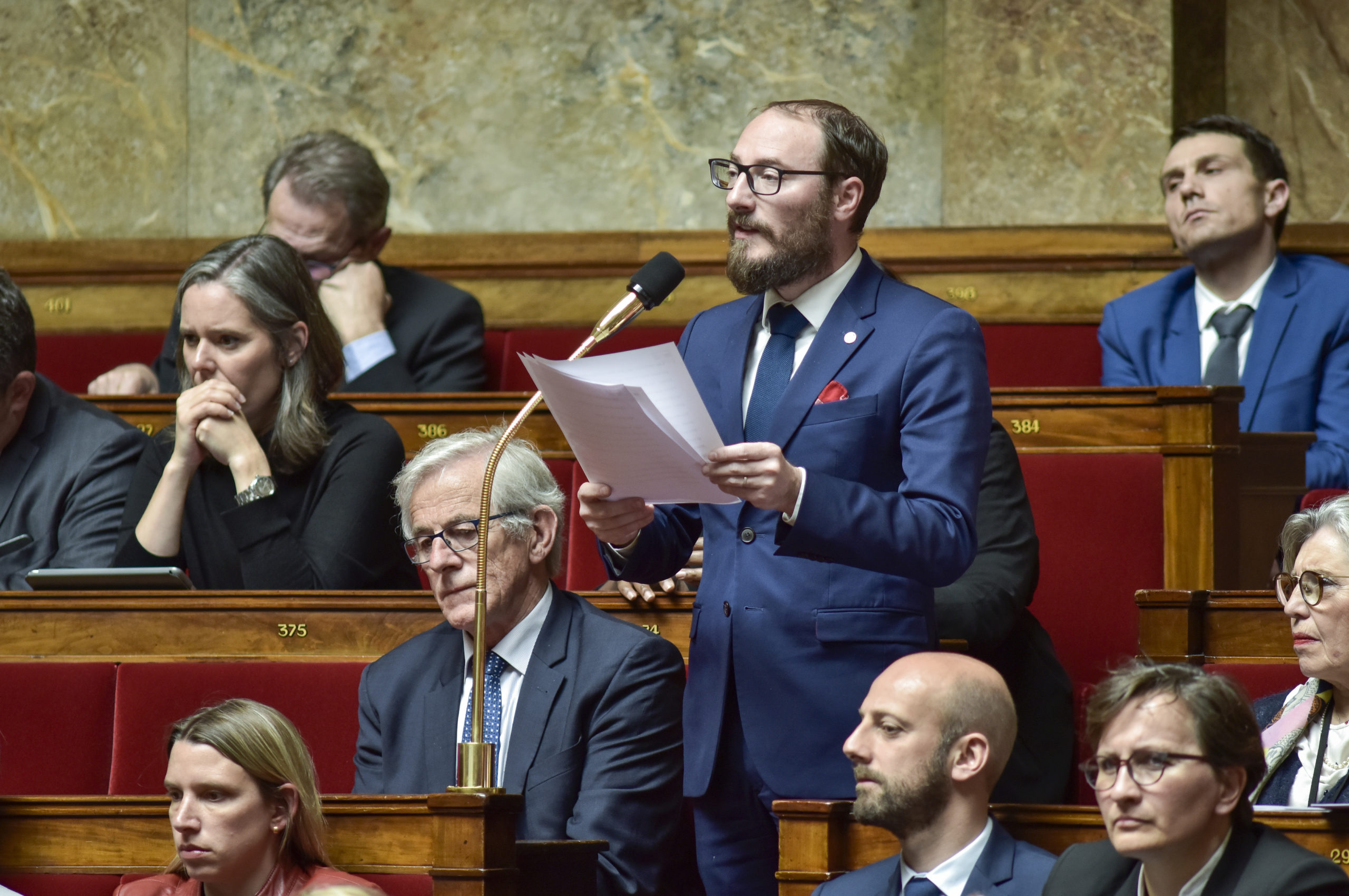 Question au Gouvernement Denis Masséglia