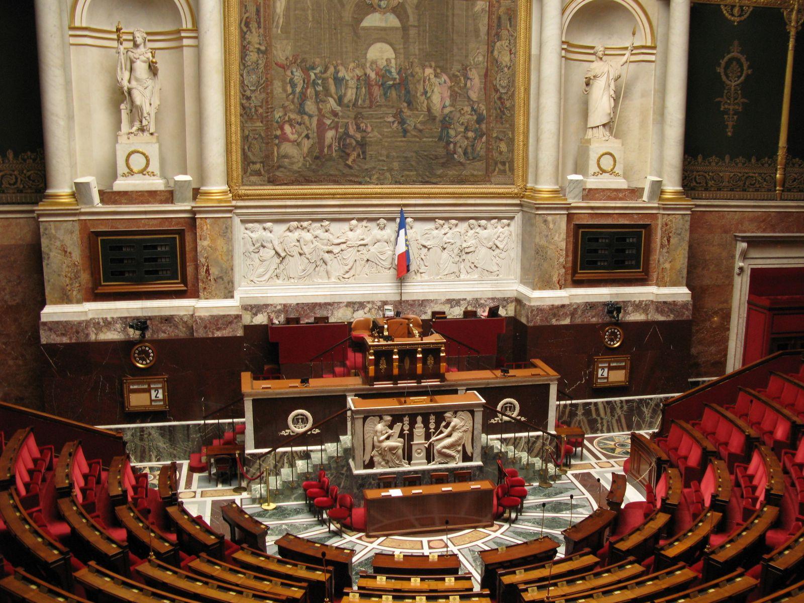 Hémicycle du Palais Bourbon